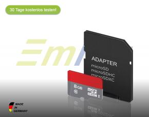 Emlog - EMH GW8E2A SD-Karte