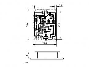 Radarsensor 165 inkl. Verstärkung (73 dB)